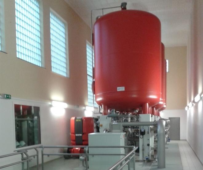 Trinkwasseraufbereitungsanlage Pulvermühle, Luxemburg